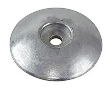 Zinc anode for transom, 70mm