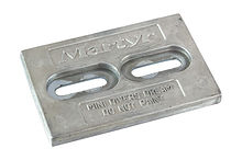 Zinc anode Martyr 150x99x13 mm