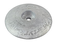Zinc anode Martyr, for transom, 110 mm.