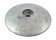 Zinc anode Martyr, for transom, 140 mm.