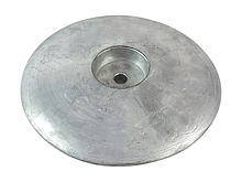 Zinc anode Martyr, for transom, 190 mm.
