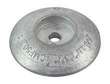 Zinc anode Martyr, for transom, 50 mm.