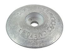Zinc anode Martyr, for transom, 70 mm.