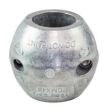Zinc anode Martyr for propeller shaft assemblies, D40mm.
