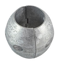 Zinc anode Martyr for propeller shaft assemblies, D50mm.