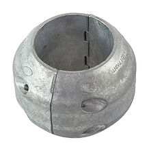 Zinc anode Martyr for propeller shaft assemblies, D76mm.