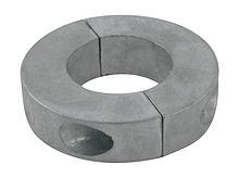 Zinc anode Polipodio to propeller shaft assemblies, O38mm.