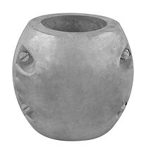 Zinc anode Polipodio to propeller shaft assemblies, O63, 5 mm. (2.5