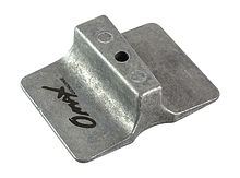 Zinc anode Yamaha 9.9-30/F8-F25, Omax