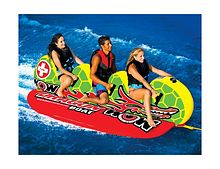 Inflatable towable Dragon Boat