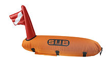 Marker buoy for divers