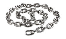 Anchor Chain 6 mm DIN766, L=0.8m, Stainless Steel