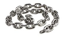 Anchor Chain 8 mm DIN766, L=0.5m, Stainless Steel