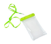 Waterproof case for Smartphone 120x220 mm, Green, IPX8
