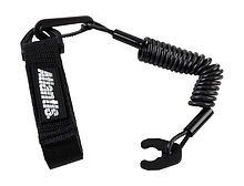 Stop Safety Lanyard for Kawasaki with strap, black
