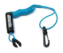 Stop Safety Lanyard for Yamaha, floating, blue