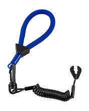 Stop Safety Lanyard for Yamaha with floating strap blue-black