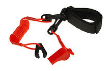 Stop Safety Lanyard for Yamaha with strap and whistle