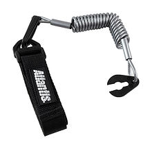 Stop Safety Lanyard for Yamaha with strap, silver