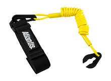 Stop Safety Lanyard for Yamaha with strap, yellow