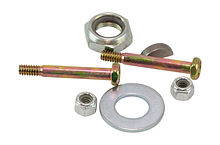 Steering wheel mount kit, Nut 5/8-18