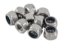 Self-locking nut M10 DIN982 A4 high packing 1/10
