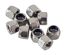 Self-locking nut A4 DIN982 M5  packing 1/10
