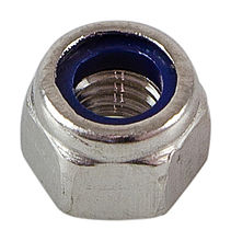 Self-locking nut high A4 DIN982 M5