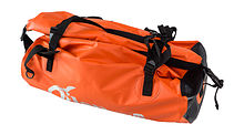 Dry bag Extreme PVC 40l, orange/black