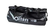Dry bag PVC 80l, black/black