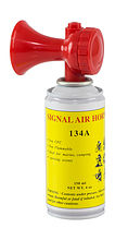 Air horn average, 150 ml