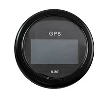 GPS Digital Speedometer, Black/Black
