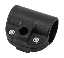 Paddle Clamp, Black, in. diameter 3 cm.