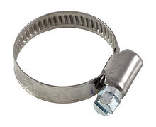 Stainless steel hose clamp A4 DIN3017 20-32/9