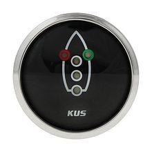 Navigation lights Gauge, Black/Chrome