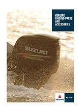 Catalog of accessories and spare parts Suzuki (September 2013)