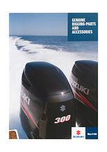 Catalog of accessories and spare parts Suzuki (November 2011)