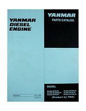 Spare parts catalogue Yanmar