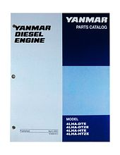 Spare parts catalogue Yanmar