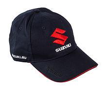 Cap Suzuki, blue, 3D embroidery