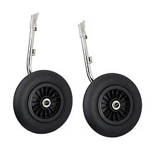 Transom Wheels, 350 mm (Kit)