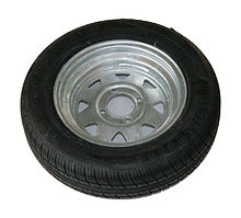 Wheel for trailer 145-R12