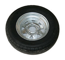 Wheel for trailer 155-R12