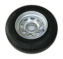 Wheel for trailer185-R14