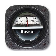 Ritchie Explorer compass, black case White Dial