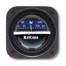 Ritchie Explorer compass, black case Blue Dial