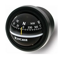 Ritchie Explorer compass, black, mortise