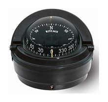 Ritchie Voyager compass, black