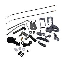 Remote control Kit for Suzuki  DT25/DT30 (black)