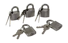 Locks Set with Keys (5 PCs.)